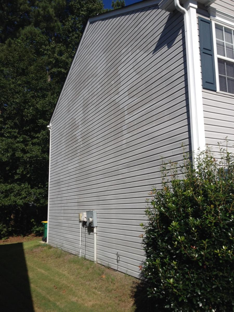High Pressure Damage To Vinyl Siding Advanced Pressure Amp Cleaning