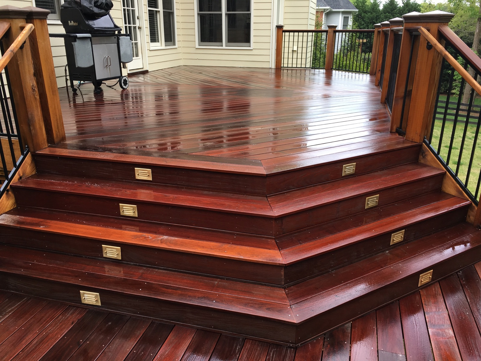 Deck Cleaning Amp Sealing Advanced Pressure And Gutter