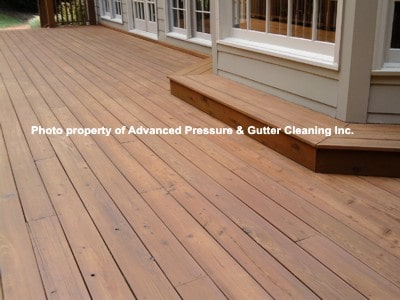 deck cleaning in Roswell, Georgia