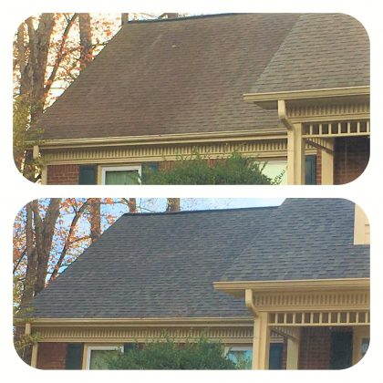 roof washing alpharetta
