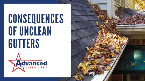 Consequences of Unclean Gutters